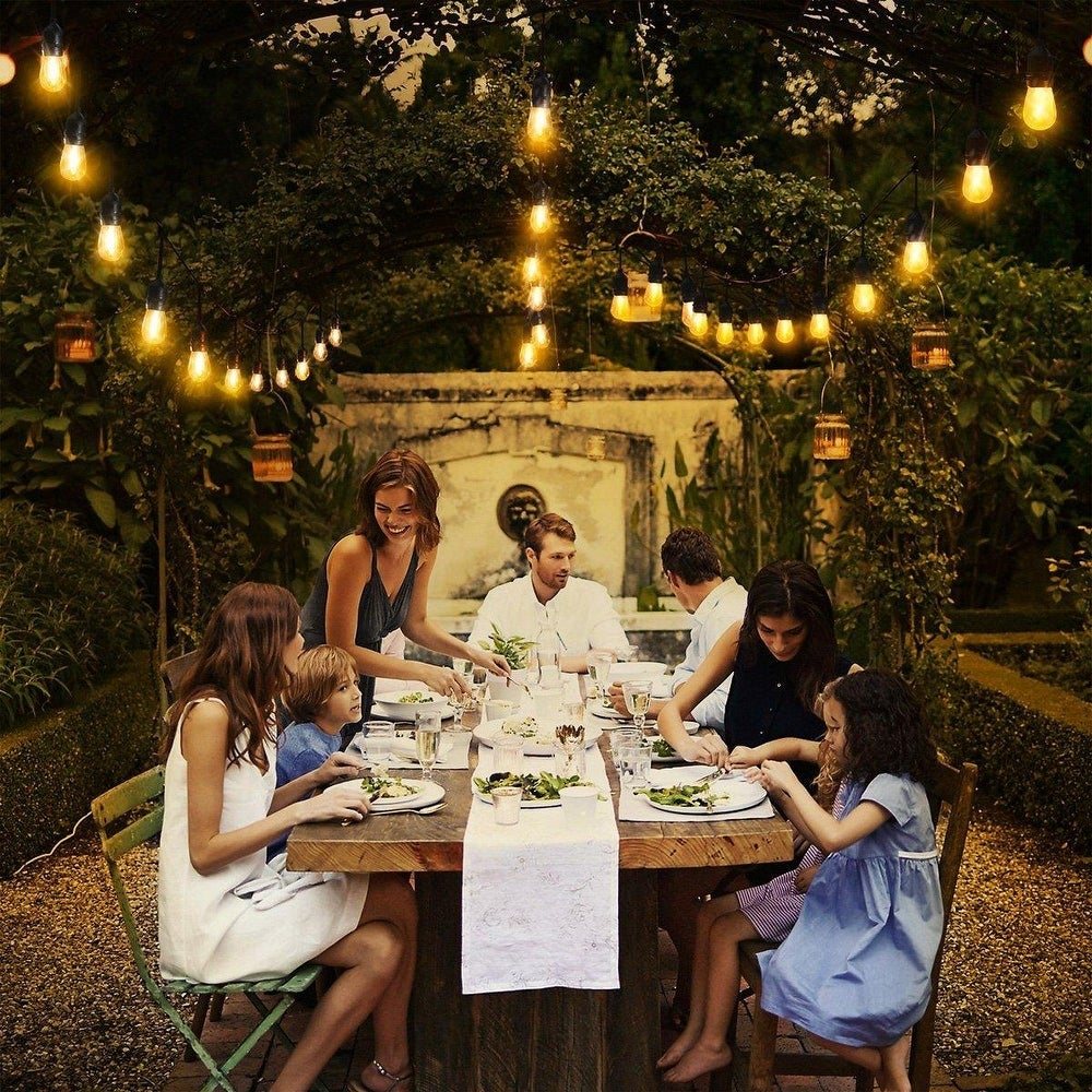 Best Hanging Outdoor String Lights to Brighten Your Patio and Backyard Porch