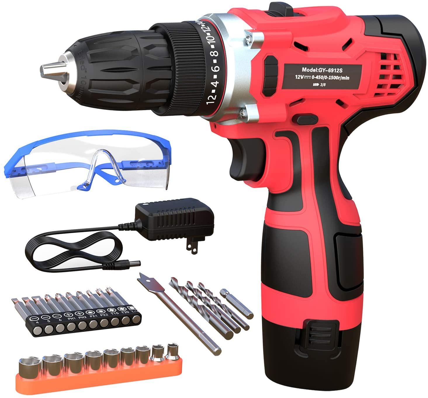 Best Cordless Drills With Tool Set (Special Sale Prices!)