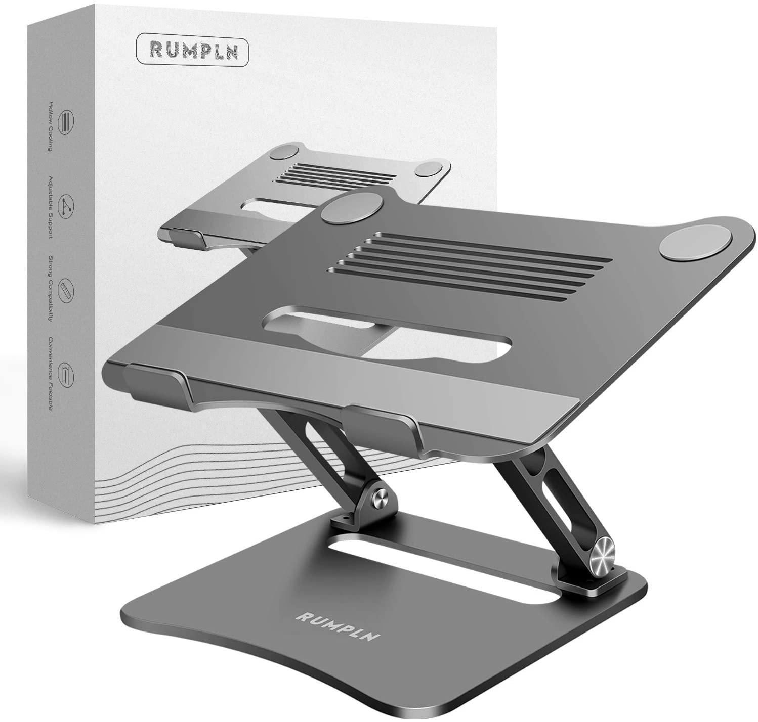 Special Sale Laptop Stand with Adjustable Height and Heat Ventilators, Helps Ensure Proper Work Posture and Alignment